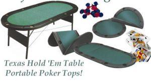 Poker Table Tops